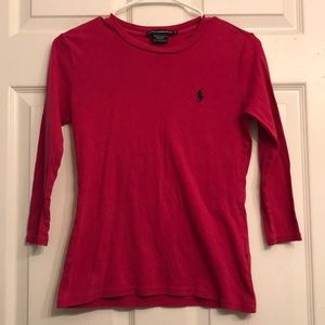 Ralph Lauren Shirt - Women's - 3/4 Sleeve
